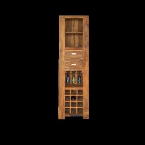 Mobile cantinetta in legno di palissandro indiano
