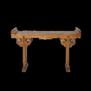 Consolle in legno di teak balinese