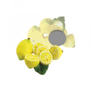 Magnete limoni piccoli con foglia resina