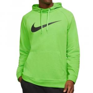 Nike Felpa Con Cappuccio Verde da Uomo