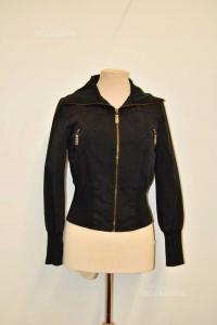 Jacket Woman Push Black Size