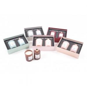 Set Candela Profumata Con Diffusore di Essenza 22x17x9 cm Disponibile in Varie Profumazioni