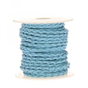 Cordoncino treccia mm 4 x 10 mt azzurro cielo