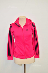 Sweatshirt Baby Girl Adidas 14 Years -x- Black