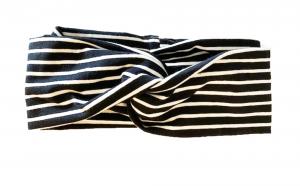 Righe nere - fascia Turbante