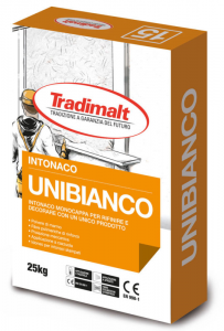 UNIBIANCO INTONACO BIANCO MODELLABILE