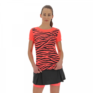 T-shirt woman Zebra Run Kona Macron