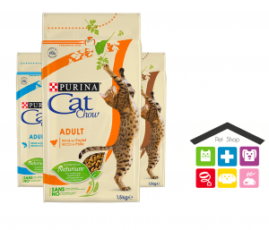 Purina CAT CHOW Adult pollo ,tonno  tract health 1,5kg