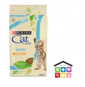 Purina CAT CHOW kitten pollo   tract health 1,5kg