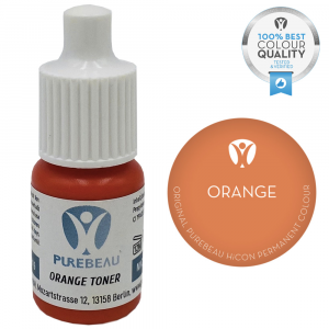Pigmento Liquido per PMU Purebeau - Orange (5 ml)