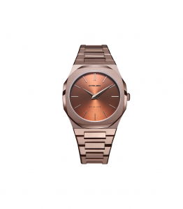 D1 Milano Uomo - Ultra Thin Chocolate 40mm Marrone