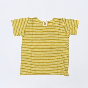 shirt rigata yellow