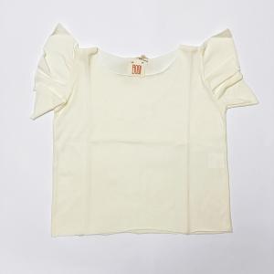 shirt latte con manica voile