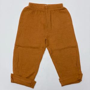 pantalone morbido in garza