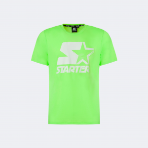 T-SHIRT ICONIC STARTER ® UOMO  LIME FLUO