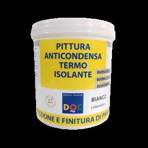 PITTURA ANTICONDENSA TERMO ISOLANTE BIANCO 750ML DOC