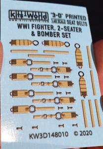 WWI German Fighter Set - 2 - Seater and Bomber Set 3D