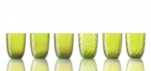 Collezione Idra Colore Verde Acido