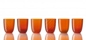 Collezione Idra Colore Arancio