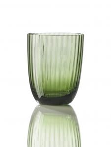 Bicchiere Idra Rigato Verde Soraya