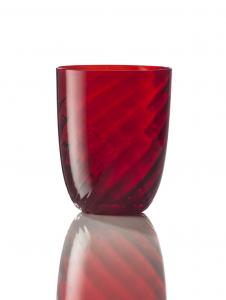Bicchiere Ottico Torsè Rosso