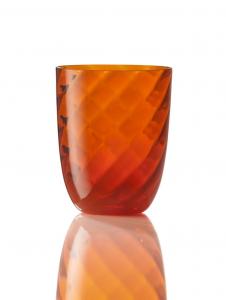 Bicchiere Ottico Torsè Arancio