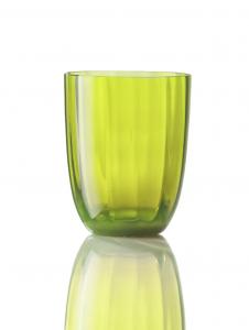 Bicchiere Idra Ottico Verde Acido
