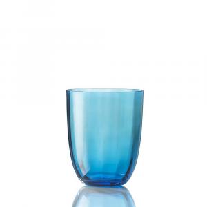 Bicchiere Idra Ottico Turchese
