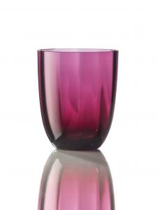 Bicchiere Idra Ottico Rubino