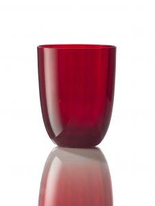 Bicchiere Idra Ottico Rosso