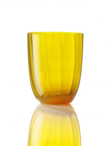 Bicchiere Idra Ottico Giallo