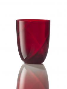 Bicchiere Idra Lente Rosso
