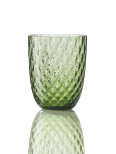 Bicchiere Idra Balloton Verde Soraya