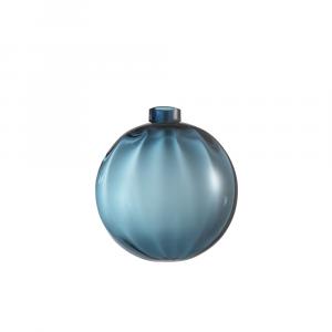 Pallina Natale Ottico Blu Avio