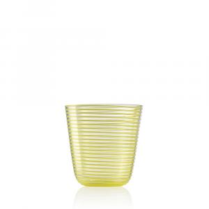 Bicchiere Vino Twist Giallo