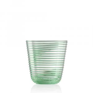 Bicchiere Vino Twist Verde