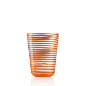 Bicchiere Bibita Twist Arancio