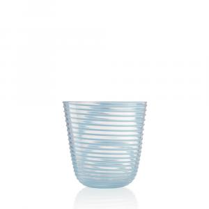 Bicchiere Vino Twist Celeste
