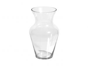 Vaso vetro trasparente economico cm30