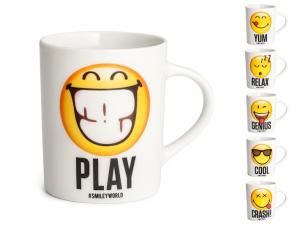 Tazza mug porcellana smiley