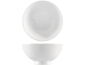Scodella in porcellana bianca cm16
