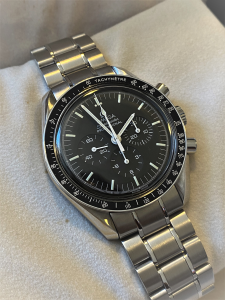 Orologio secondo polso Omega Speedmaster Moonwatch
