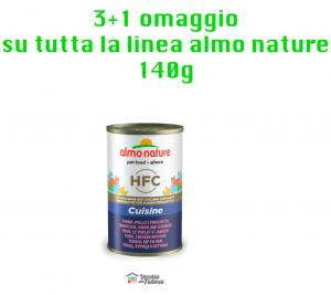 Almo Nature Gatto | Linea Cuisine HFC | Tonno, Pollo e Prosciutto - 140gr