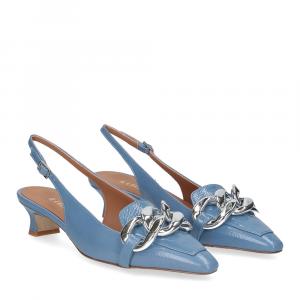 Il Laccio Chanel C406 vernice azzurro