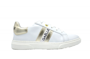 Sneaker Leather with logo