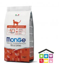 Monge  cat Senior – Pollo 0,400g