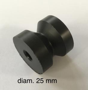 Puleggia guidafilo diametro 25mm