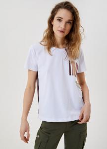 LIU JO WA1482J5972T9743 T-shirt con inserti stampati