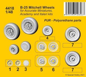B-25 Mitchell Wheels