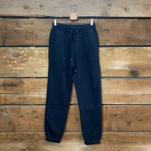 Pantalone Colorful Standard 100% Organic Cotton Blu Navy